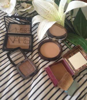 NARS Laguna Benefit Hoola NYX Taupe Too Faced Milk Chocolate