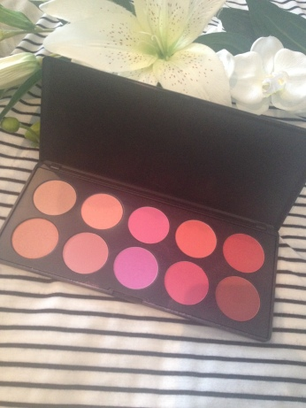 BH Cosmetics Blush Palette Glamourous
