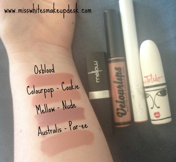 Mac Toledo Oxblood dupes swatches
