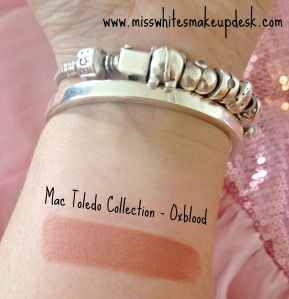 Mac Toledo Oxblood Swatch