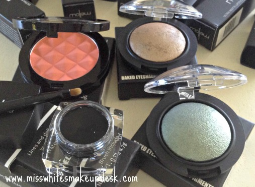 Mellow Cosmetics Blush Eye shadow Eye liner