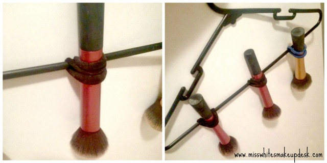 beauty secret tip tricks drying brushes