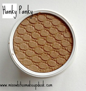 Colourpop review hanky panky swatch