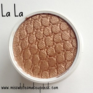 Colourpop review La La swatch