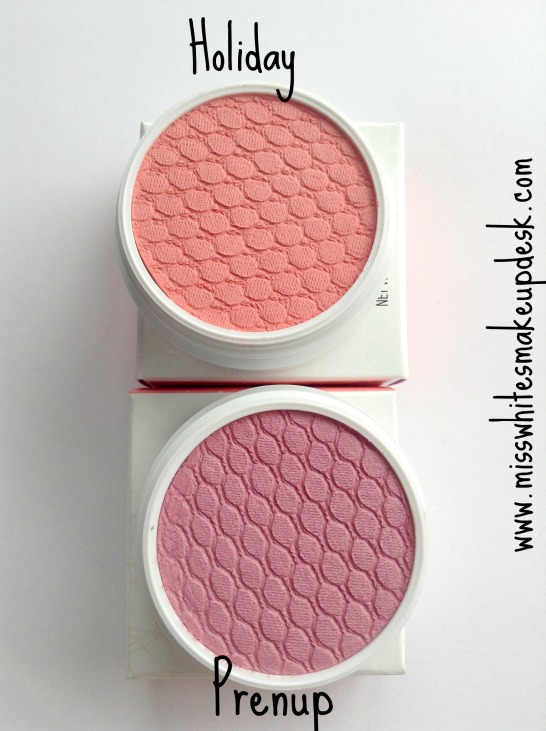 Colourpop super shock cheek blush swatches holiday prenup review