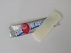 Airheads American Candy test