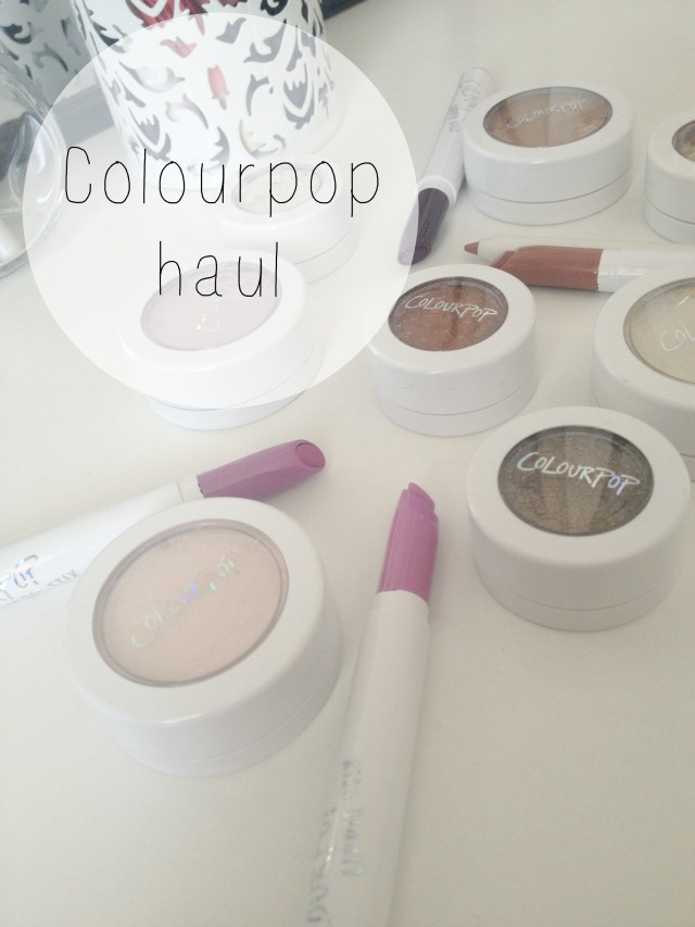 colourpop haul