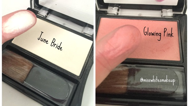 Za Cosmetics June Bride Glowing Pink swatches