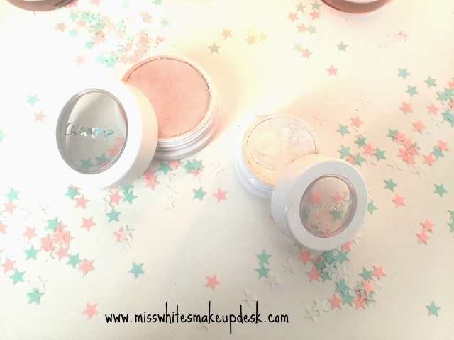 Colourpop highlighter monster eyeshadow bites