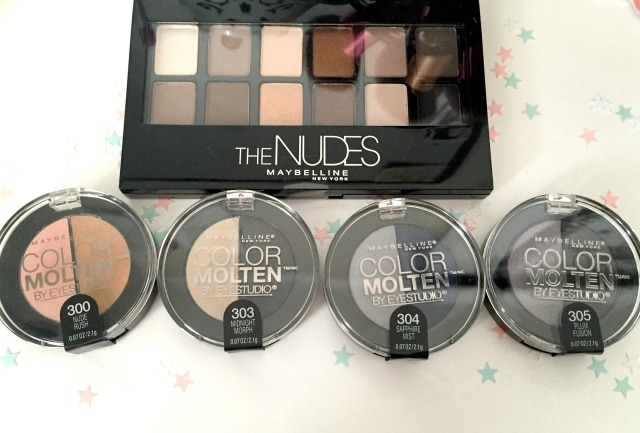 Maybelline New York Color Molten The Nudes Palette