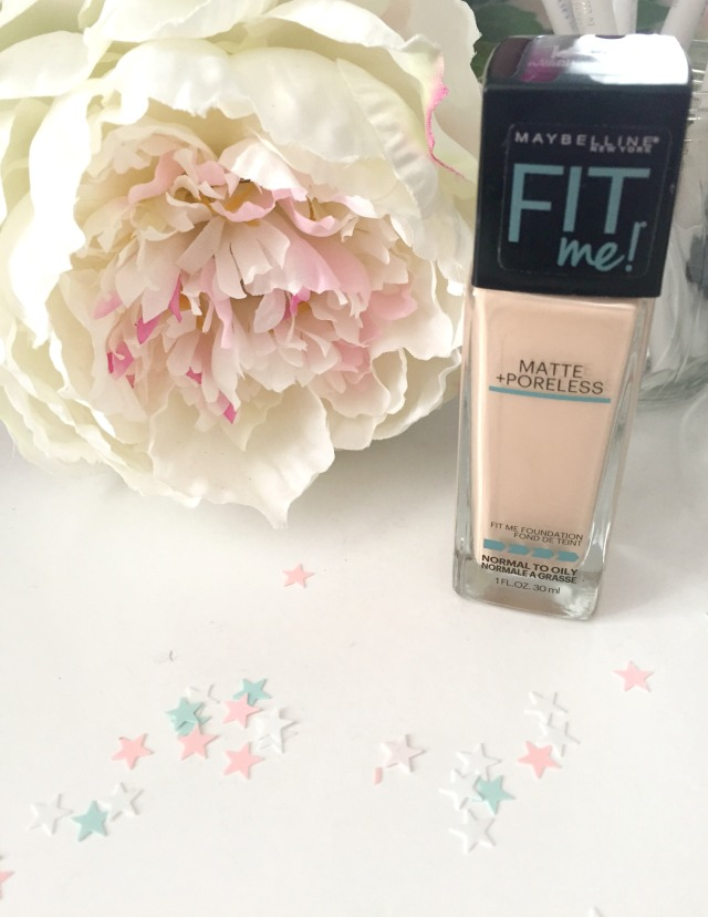 Maybelline New York Fit Me Matte+Poreless Foundation