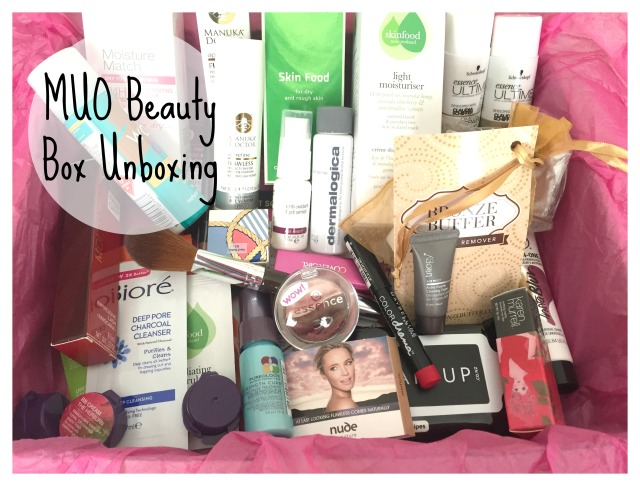 MUO Makeup Obsessives beauty Box Unboxing