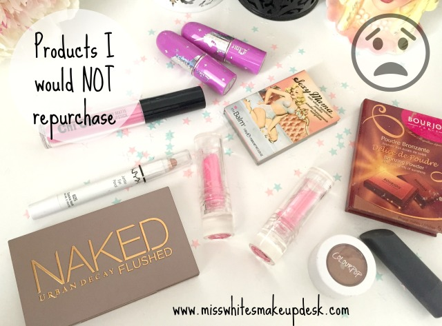 Products I would not repurchase NAKED Flushed Lime Crime Bourjois Bronzer
