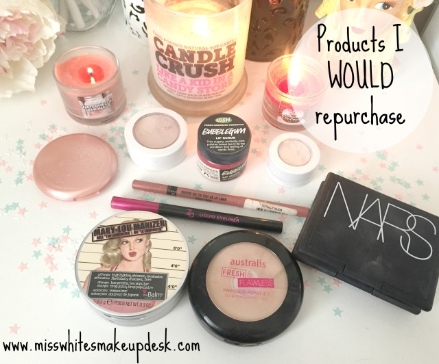 Products I would repurchase back up NARS Mary Lou