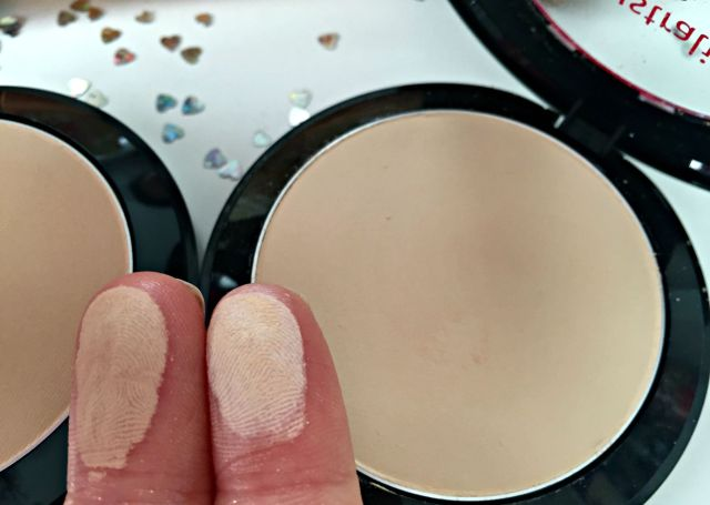 Australis Cosmetics Fresh & Flawless Powder Comparison Review Swatches Light Beige