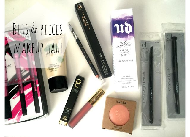 Makeup haul review Urban Decay Stila Anastasia