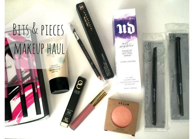 Makeup haul review Urban Decay Stila Anastasia