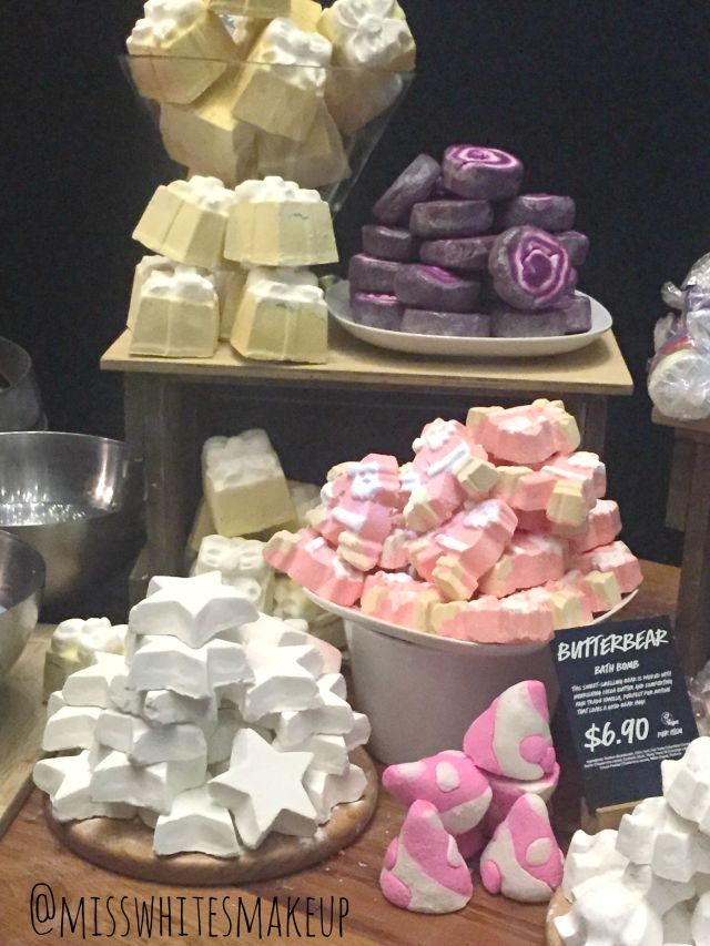 Lush Bath Bombs Christmas Collection 2015
