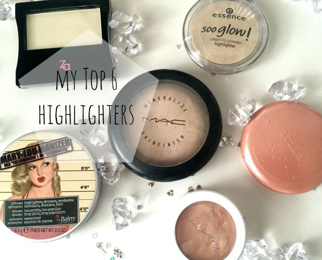 Highlighters makeup favourite swatches review