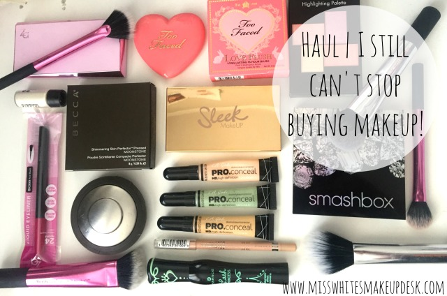 I cant stop buying makeup haul Help Me