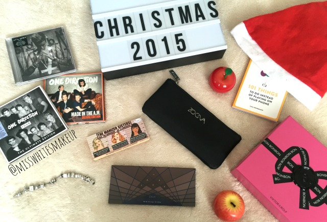 What I Got For Christmas 2015 One Direction Zoeva
