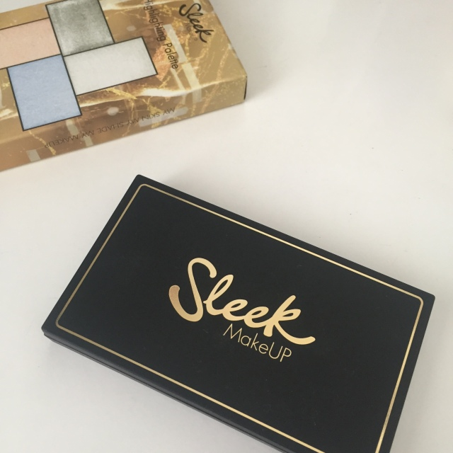 Sleek Highlighting Palette Midas Touch Swatches