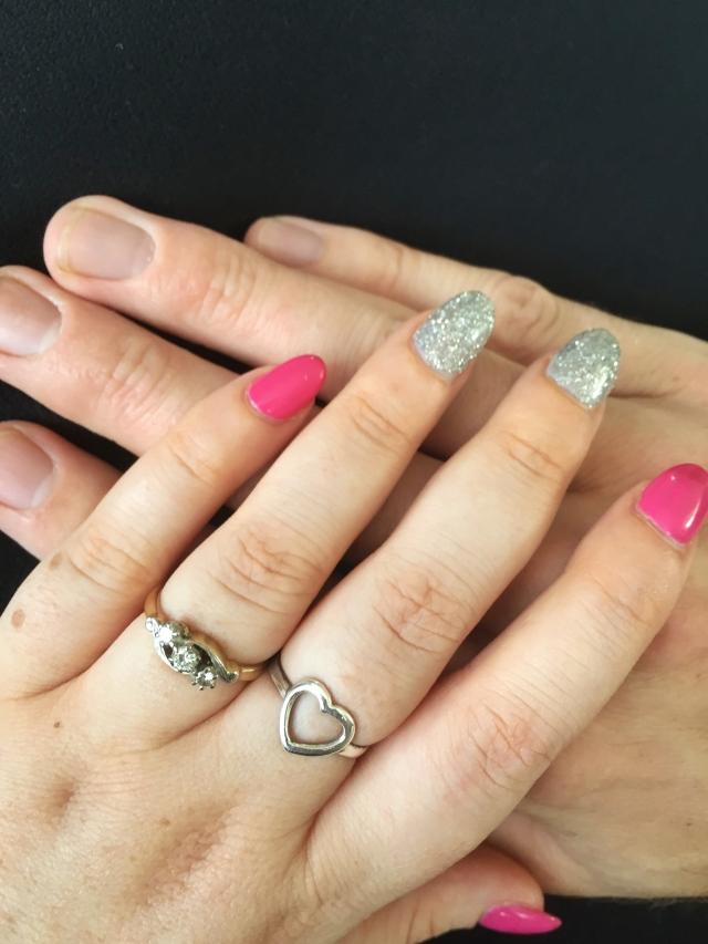 Engagement ring antique