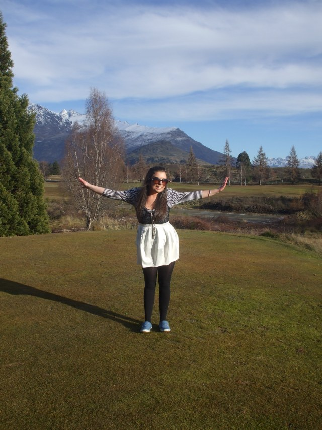 Cute dress Arrowtown Golf club