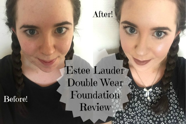 Estee Lauder Double Wear Before and After Review Test Best foundation ever
