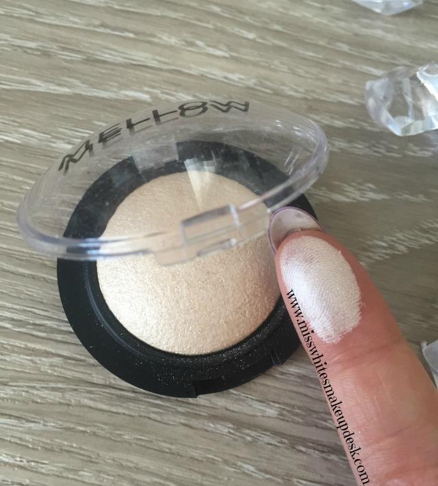 Mellow Cosmetics Highlighter Baked Eye Shadow Cream