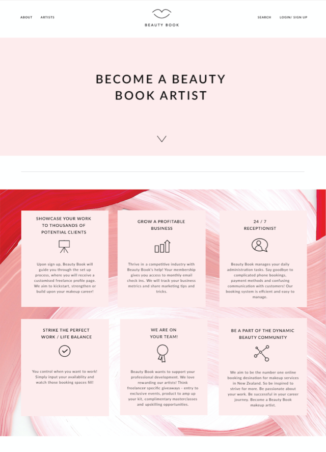 Beauty Book NZ Freelance Makeup Artists how to find them