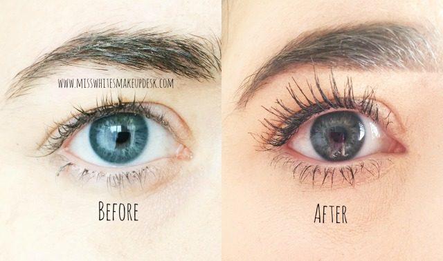 Eye of Horus Goddess Mascara Amazing Before/After