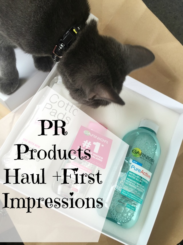 PR Haul First Impressions Kitten Garnier Manuka Doctor Kardashian Matrix