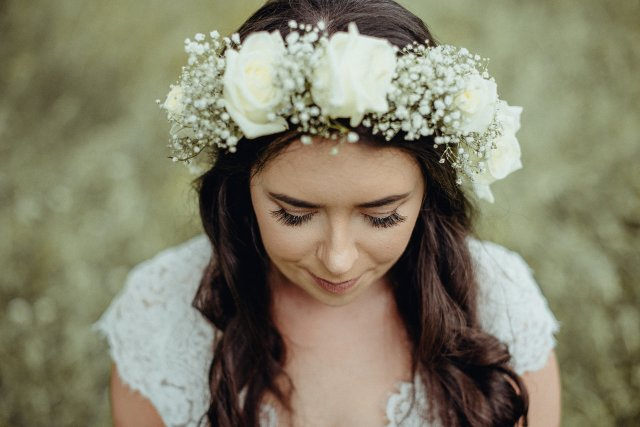 Wedding Dunedin Flower Crown